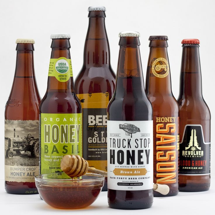 """Sixer: Honey beers we're sweet on If you've avoided honey beers because they're """"too sweet,"""" you're missing out: Honey does smooth out a brew and give it some sweetness, but that's balanced by honey's other best quality: earthy, floral dryness. An already sweet blonde or cream ale can heighten the sweet factor, but these six beers spotlight honey's more nuanced flavors for scrumptious, summery swallows. #bru  #bouldercraftbeer #coloradocraftbeer #draftmagazine #beer"""