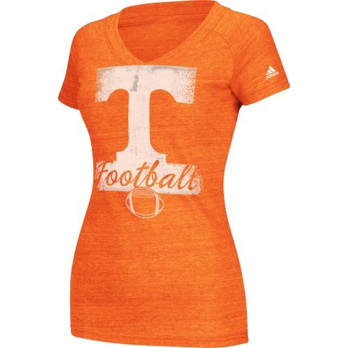 Women's Adidas Tennessee Volunteers Football Tee at End Zone Apparel
