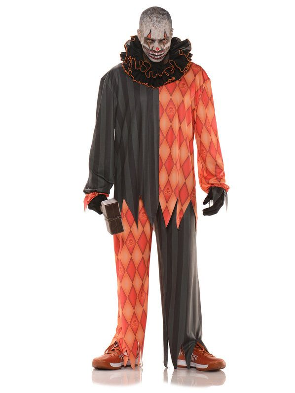 Check out Evil Clown Men's Costume - Wholesale Horror Costumes for Men from Wholesale Halloween Costumes