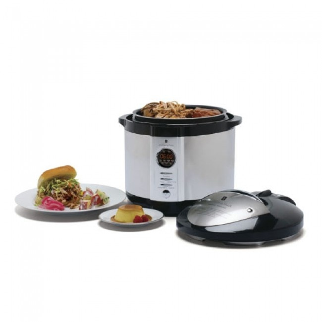 Wolfgang Puck 5 Quart Electronic Pressure Cooker Four appliances in ...