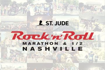It's time!!! Prayers for all the true heroes...the children and staff at St. Jude! God bless you!! The Rock 'n' Roll Nashville Marathon, Half Marathon & 5K are perfect for seeing the city and supporting St. Jude Children's Research Hospital.
