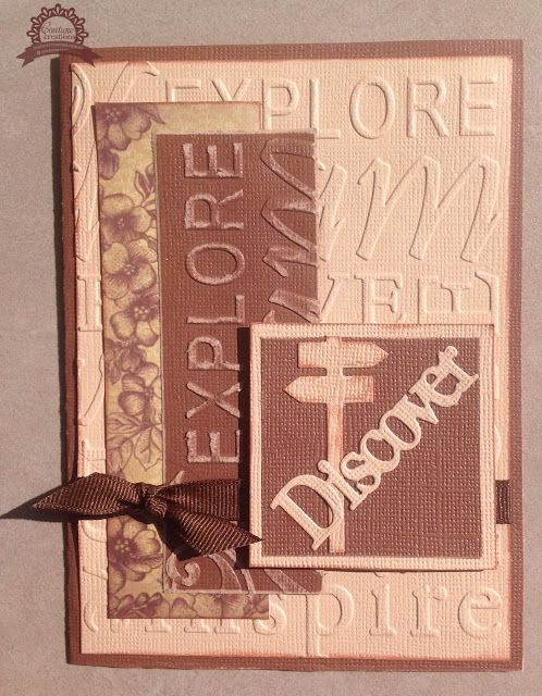 Couture Creations: Discover Card by Lesa Bird | #couturecreationsaus…
