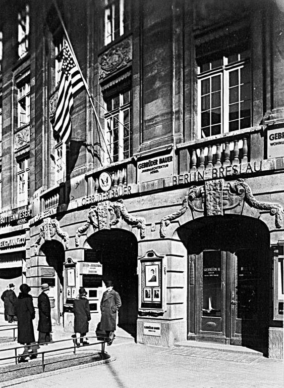 Berlin   Vor 1933. Bellevuestraße 5, Amerikanisches Konsulat, 1930