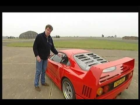 BEST CAR EVER FERRARI F40 http://www.ferrari.com/English/GT_Sport%20Cars/Classiche/All_Models/Pages/F40.aspx