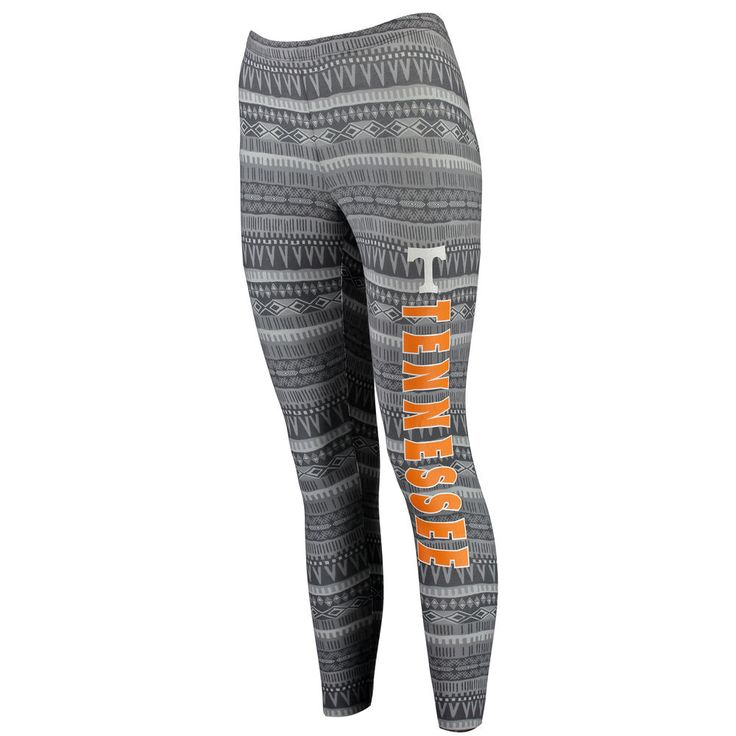 Tennessee Volunteers Concepts Sport Women's Comeback Leggings - Charcoal