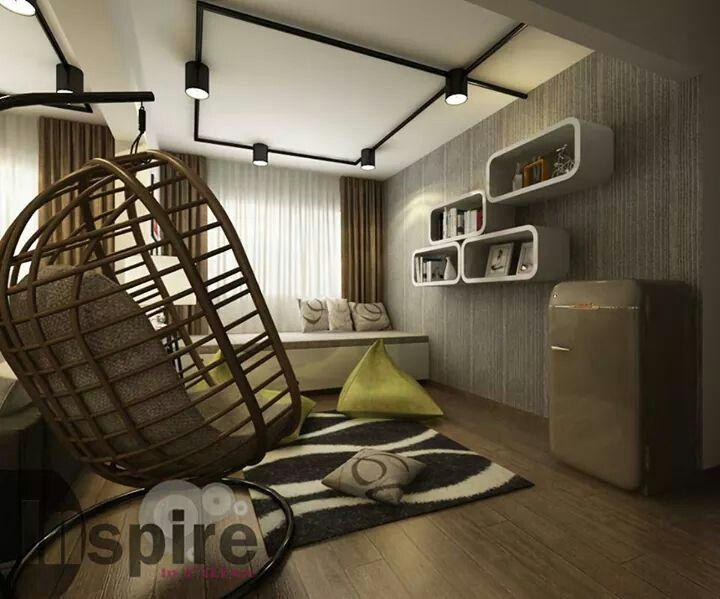 Living Room Roof Interior Design