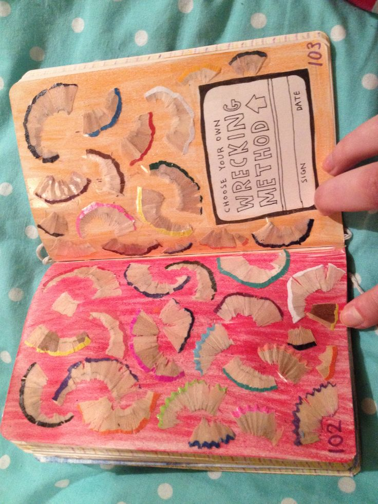 wreck this journal red expanded ed