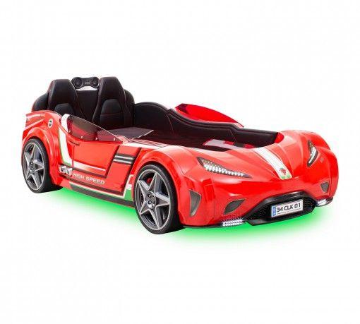 Champion Racer GTI Autóságy #gyerekbútor #bútor #desing #ifjúságibútor #cilekmagyarország #dekoráció #lakberendezés #termék #autóságy #forma1 #ágy #gyerekágy