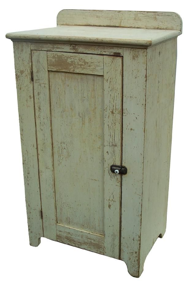 Mid 19th century Pennsylvania one door Milk Cupboard · Primitive Painted  FurniturePrimitive CabinetsCountry FurnitureAntique ... - 3182 Best Primitive Cupboards Images On Pinterest Primitive