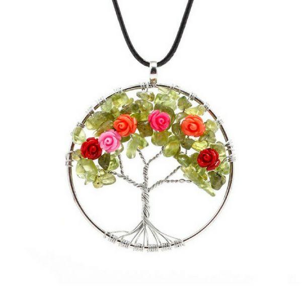 Árbol de la Vida 7 Chakras (Piedra Natural) – Vicky Palacio – Tu Tienda en Línea