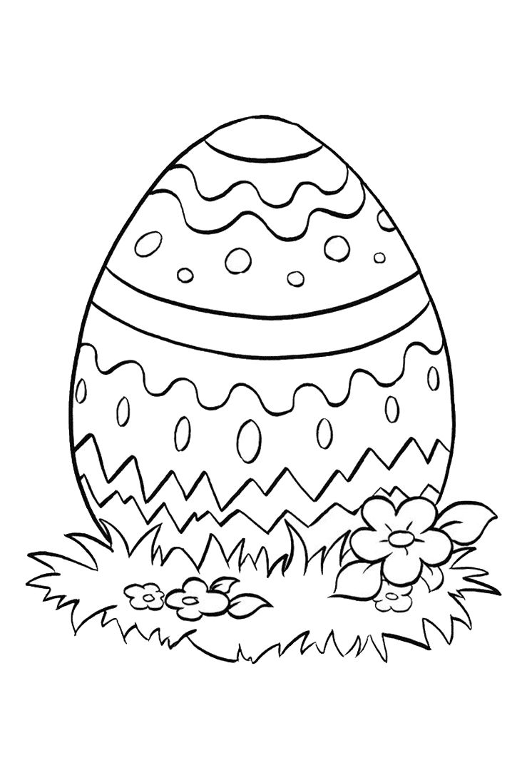 butterfly easter egg coloring pages - photo#26