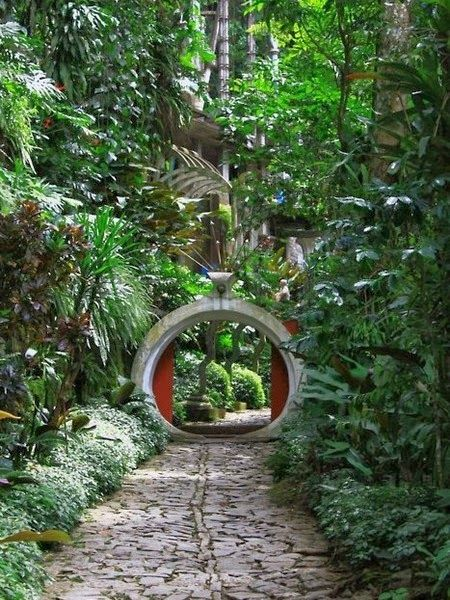 Depiction of Arches and Portals !! - Edward James Garden