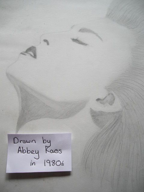 Drawn in the 1980's by @abbeykaos