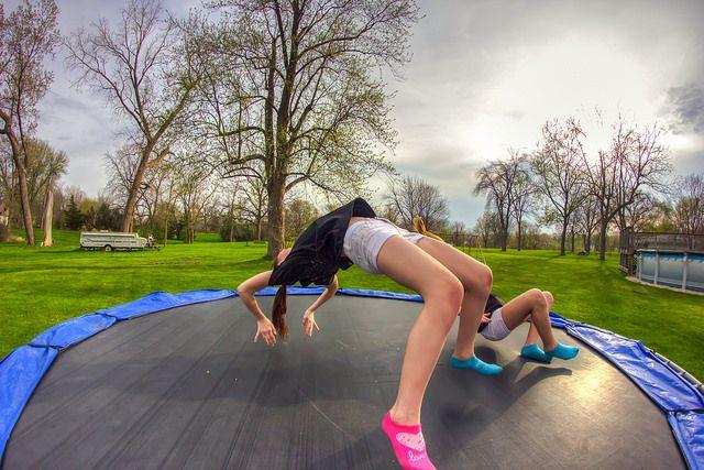 Wariacje na trampolinie? Tak, uwielbiamy to! :D  www.trampoliny.pl  #trampoliny #trampolina #trampolines #trampoline #dzieci #kids