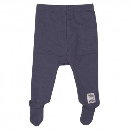 Pants with foot, vintage blue, Pippi