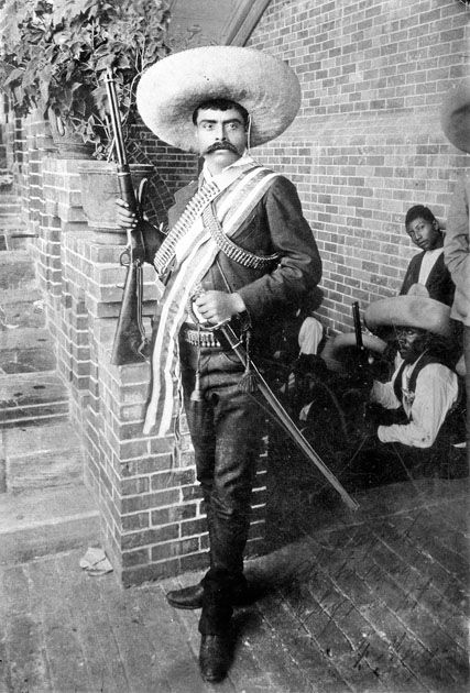 Emiliano Zapata, the greatest Mexican Revolutionary and one of the greatest of ALL Latin American freedom fighters!