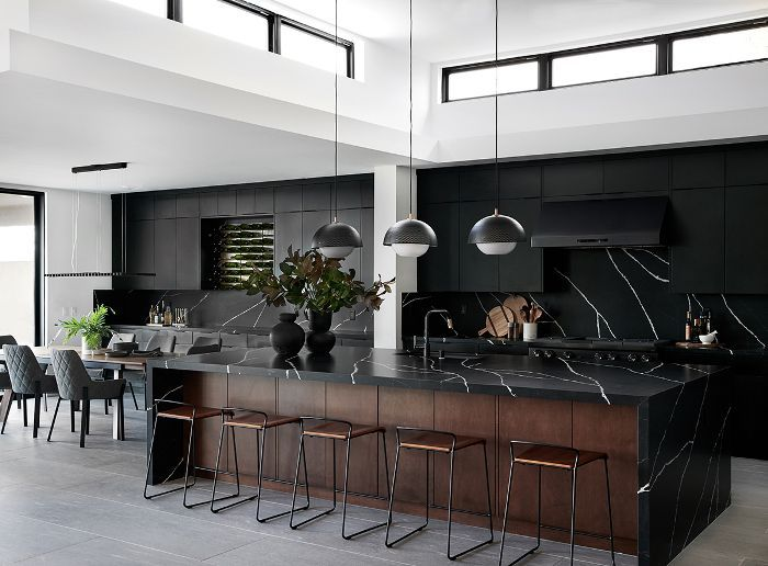 This All Black Kitchen Breaks All The Rules And We Re Loving It
