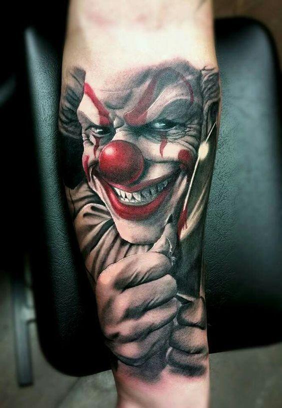 33 best creepy jester tattoos images on pinterest clown tattoo jester tattoo and tattoo ideas. Black Bedroom Furniture Sets. Home Design Ideas
