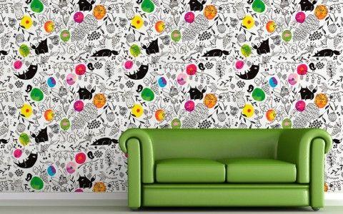 Wall painted by Amaia Arrazola - The Mushroom Company