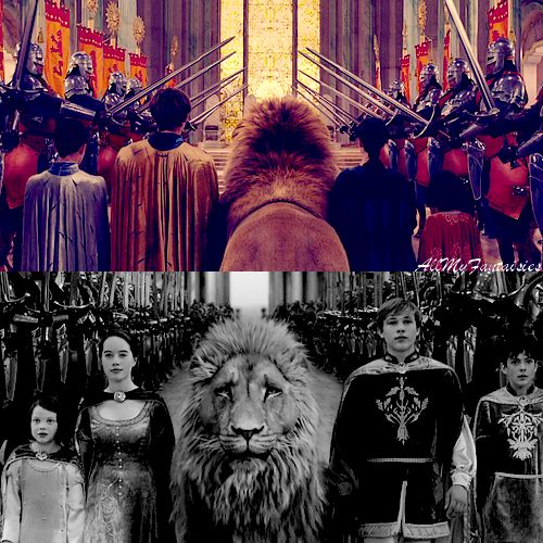 "The Chronicles of Narnia: The Lion, the Witch, and the Wardrobe - ""Once a King or Queen of Narnia, always a King or Queen. May your wisdom grace us until the stars rain down from the heavens!"""