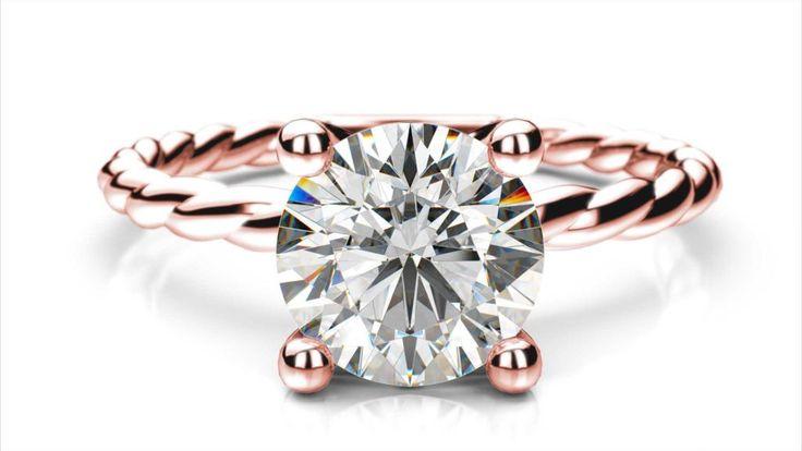 Zásnubný prsteň Izar round