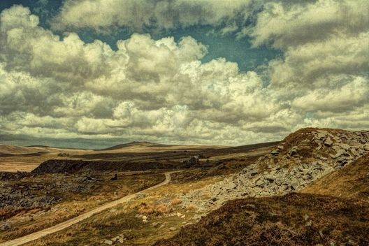 Foggintor, Dartmoor by Sarah Jarrett