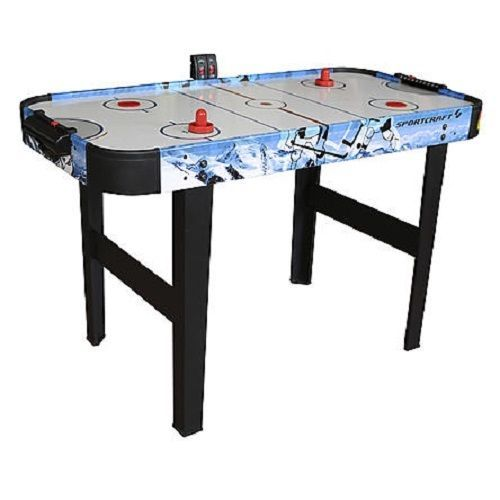"""Sportcraft 48"""" Air Powered Hockey Table Fun for Kids and Adult Electronic Scorer #Sportcraft"""
