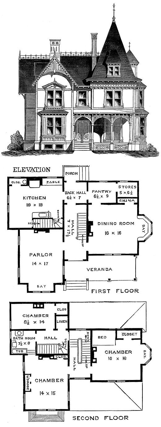 1265 best Houses Floor plans images on Pinterest Architecture - best of blueprint country house