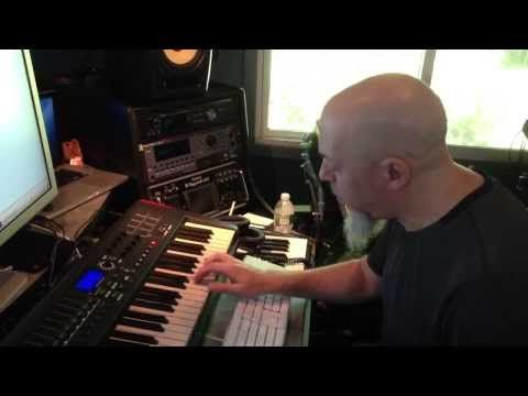 ▶ Jordan Rudess plays the TouchKeys - YouTube | VERY EXCITING BUT WAITING AND SEEING AS THE TECH MATURES. DON'T WANT IT TO BE STOPGAP BETWEEN HAKEN CONTINUUM AND WHATEVER ELSE IS OUT THERE (HELLO ROLI SEABOARD?). MORE CHOICES ARE HEALTHY FOR CREATIVES.