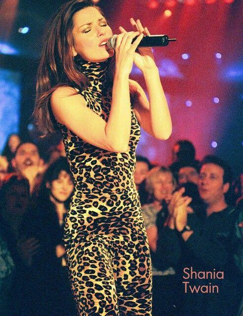 Shania Twain Top of the Pops