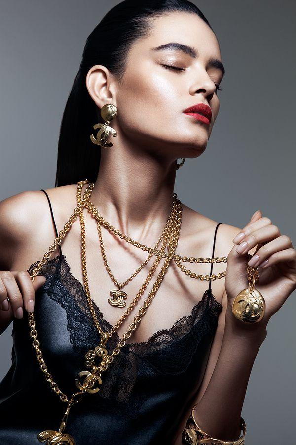 Vintage Jewelry Editorial by Alex , via Behance