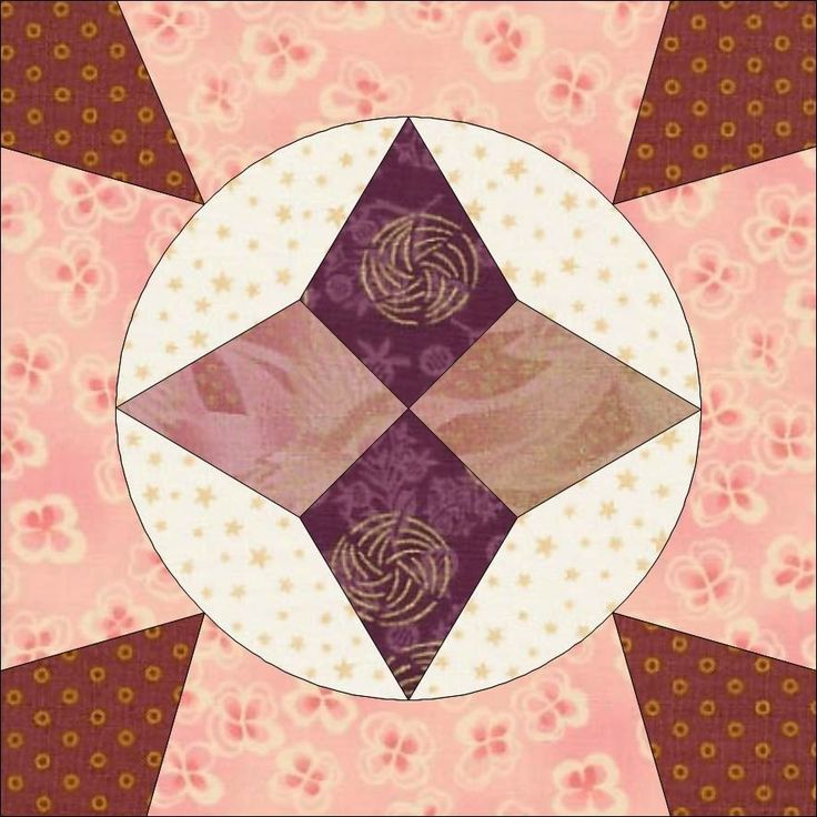 Country Rose Quilts: Wiener Walzer Viennese Waltz - Stephansdom (C) Country Rose Quilts