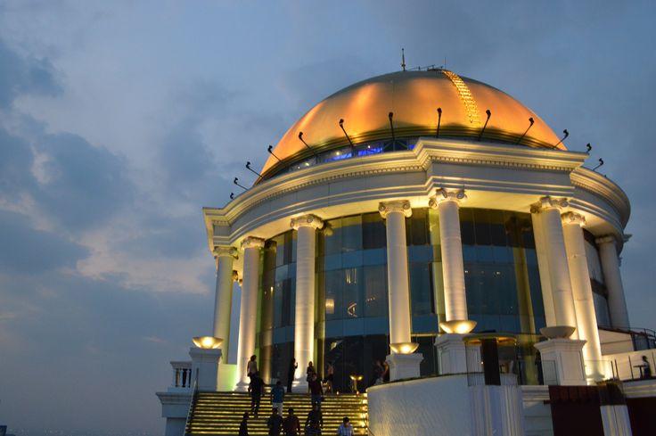 Sirocco Skybar/lebua at State Tower hotel, Bangkok, Thailand 2013
