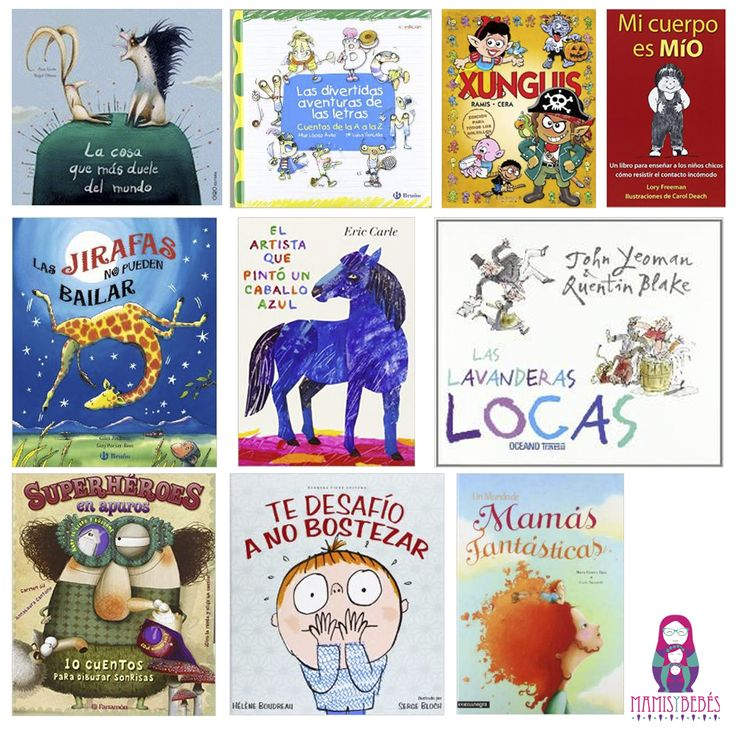 50 Libros infantiles recomendados por los lectores