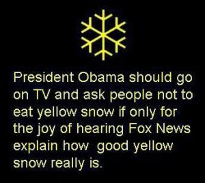 Funniest Memes Mocking Fox News: Fox News and Yellow Snow