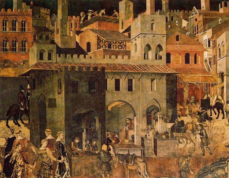 Efectos del Buen Gobierno (1340) Ambrogio Lorenzetti