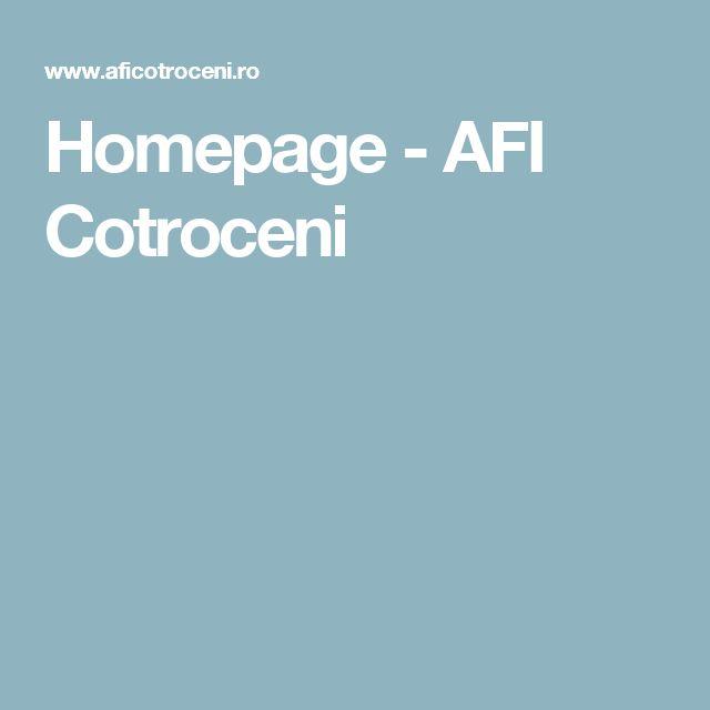 Homepage - AFI Cotroceni