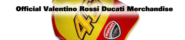 Official 2011 Valentino Rossi Ducati Clothing & Merchandise