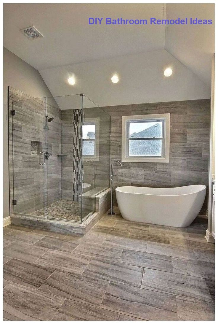 15 Incredible DIY Ideas for Bathroom Makeover in 2020 | Master bathroom design, Bathroom remodel master, Bathroom renovation diy