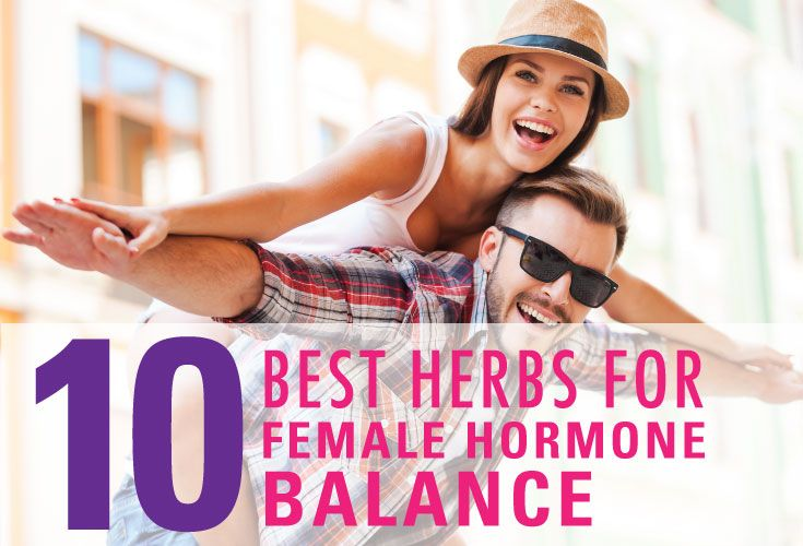 Reduced sexual desire, a lack of energy, hormonal imbalance... all problems that can cause a great deal of stress for women. Of course, environmental toxins and hormone disrupting chemicals (like BPA) only make the situation worse. Fortunately, women of any age can take nutritional steps to naturally balance hormone levels. Here are, in no particular order, the 10 best herbs for female hormone balance.