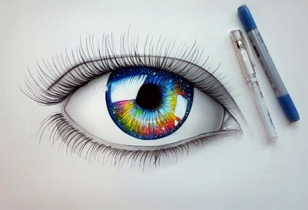 How to Draw an EYE (32)