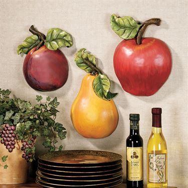 Fruit Wall Accent Set Wall Art