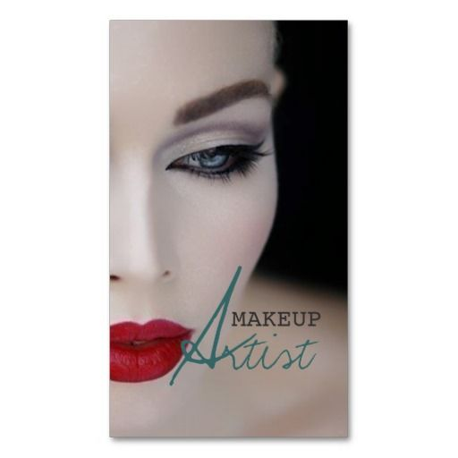330 best images about Makeup Artist Business Card Templates on ...