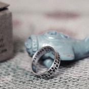 Image of LA PROMESSA-anello inciso