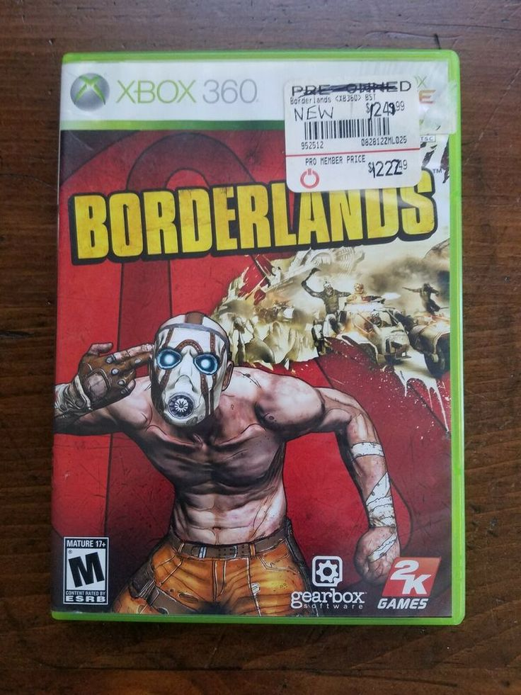 XBOX 360 Borderlands Shooter (Video Game) Complete with