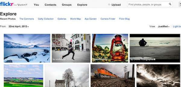 Photo sharing sites -----Flickr is best for me probably