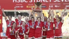 Le Canada a décroché le troisième titre de son histoire sur le circuit mondial de rugby à sept féminin à...
