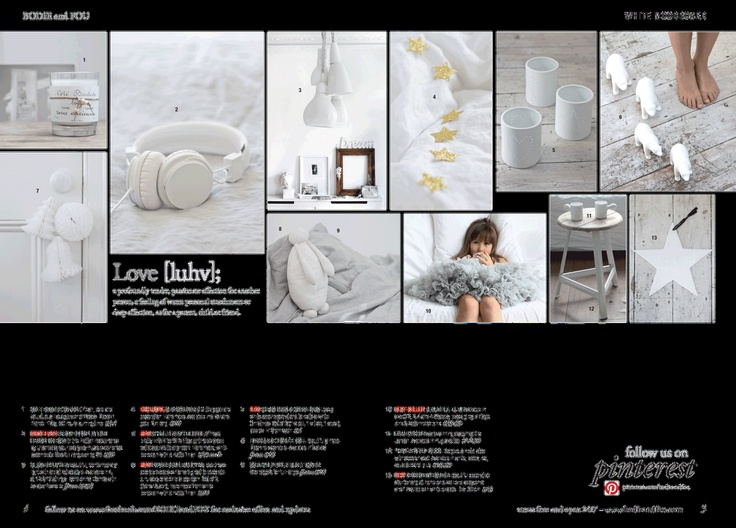 Sneak-peek of our Autumn catalogue - White Christmas