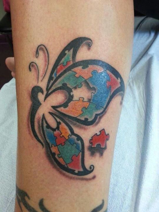 10 best ideas about autism awareness tattoo on pinterest for Autism tattoos for dads