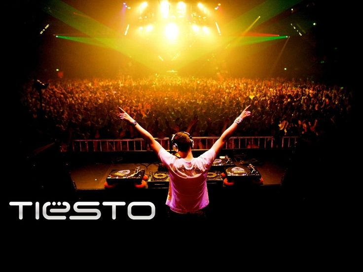 Legendary electronic DJ...DJ Tiesto